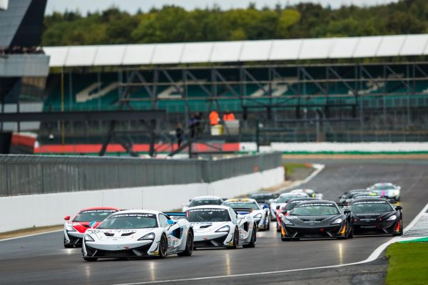 Nick Moss claims second Pure McLaren GT Series win at Silverstone